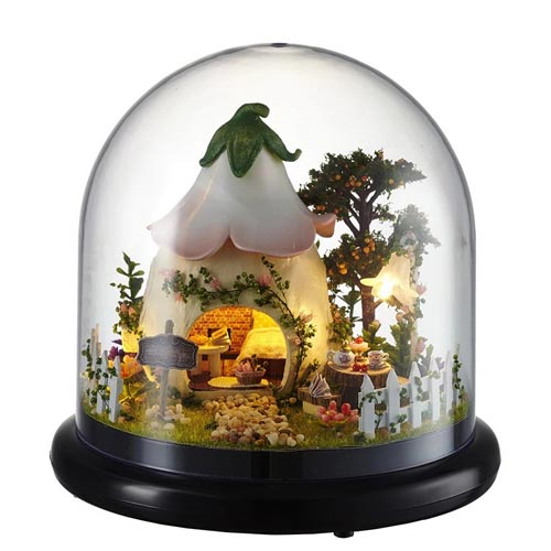 "3D Румбокс DIY House ""Домик феи"" Doll House Кукольный Домик CuteBee"