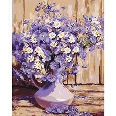 Картина по номерам Букет полевых цветов KHO3020