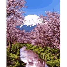 Цветущая сакура 2 MR-Q2195