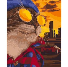 Дерзкий кот KH4127
