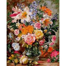 Букет из роз и лилий VP1056