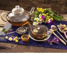Картина раскраска Babylon Чай с цветочным медом VP1136 40 х 50 см
