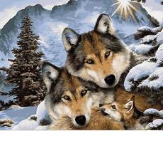 Семья волков VP1023