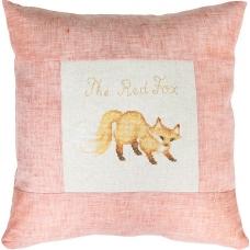 PB101 Рыжая лиса. Luca-S. Набор для вышивания нитками. Подушка