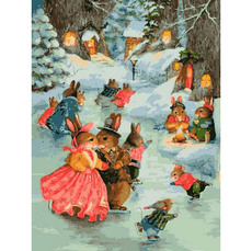 Рождественская прогулка, худ. Виллер Сьюзан (VK141)