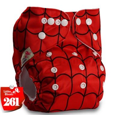 Многоразовый подгузник Littles and bloomz Человек паук