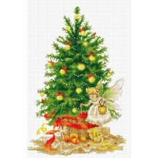 B1117 Рождественская ёлка. Luca-S. Набор для вышивания нитками
