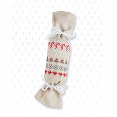 Набор для вышивки новогодней игрушки JK004