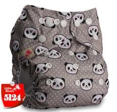 Многоразовый подгузник Littles and bloomz Панда