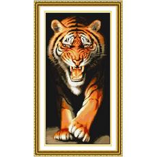 Тигр вертикаль