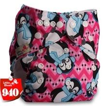 Многоразовый подгузник Littles and bloomz Пингвины
