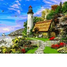 Картина раскраска Дом смотрителя маяка Babylon VP1152 40 х 50см