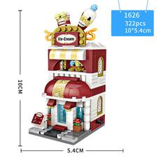Конструктор Loz mini blocks 1626 Кафе Мороженое
