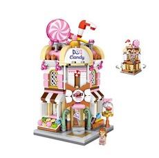 Конструктор Loz mini blocks 1644 Магазин сладостей