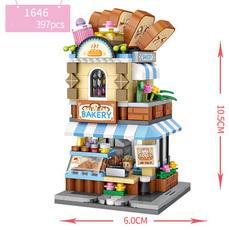 Конструктор Loz mini blocks 1646 Пекарня