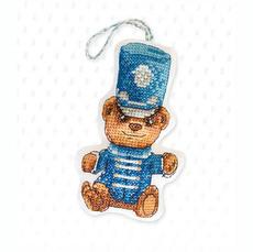 Набор для вышивки новогодней игрушки JK026