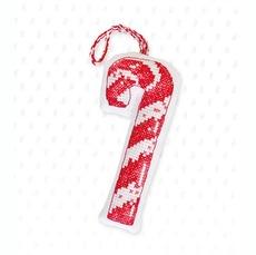 Набор для вышивки новогодней игрушки JK025