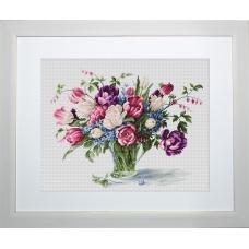 B2261 Тюльпаны. Luca-S. Набор для вышивания нитками