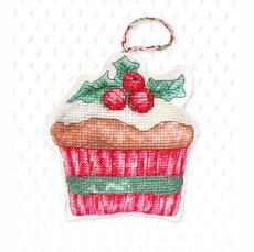 Набор для вышивки новогодней игрушки JK023