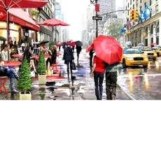 Дождь в Нью-Йорке Худ МакНейл Ричард (VP446)
