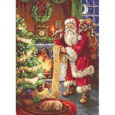 B578 Дед Мороз Набор для вышивания крестиком