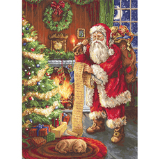 G578 Дед Мороз Набор для вышивания - Гобелен