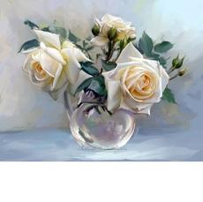 Чайные розы худ Бузин Игорь (VK017)