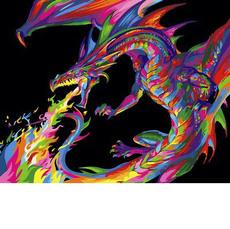 Радужный дракон VP985