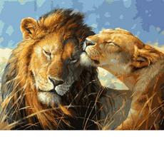 Влюбленные львы VP991