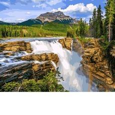 Водопад в чаще леса VP1093