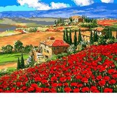 G489 Купите ягод Платонов Харитон Платоновичь. Luca-S. Набор для вышивания нитками (гобелен)