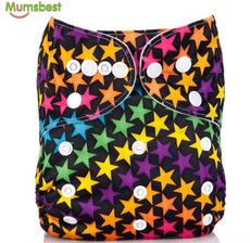 Многоразовый подгузник   Mumsbest Разноцветные звезды