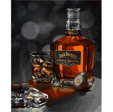 Картина раскраска Babylon Джек Дэниэлс VP1116 40 х 50 см