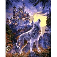 Картина раскраска Babylon Волчья луна VP1121 40 х 50 см