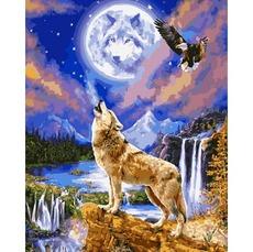 Картина раскраска Babylon Ночной полет VP1122 40 х 50 см