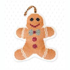 Набор для вышивки новогодней игрушки JK017