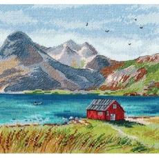 Набор для вышивки крестом Овен Лофотенские острова 1280о