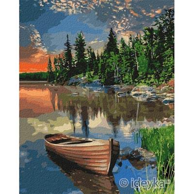 KHO2296 Картина по номерам Уютное место Идейка