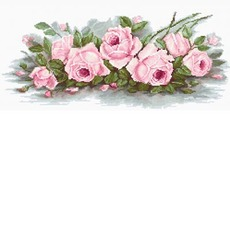 BA2353 Романтические розы