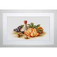 B2250 Натюрморт с апельсинами. Luca-S. Набор для вышивания нитками