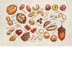 B1165 Орехи и семена Набор для вышивки крестом