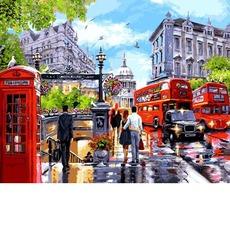 VP1242 Картина по номерам Весна в Лондоне Babylon