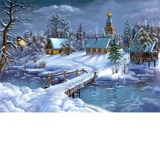 Зимняя сказка худ. Цыганов, Виктор (VP169)