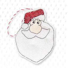 Набор для вышивки новогодней игрушки JK014