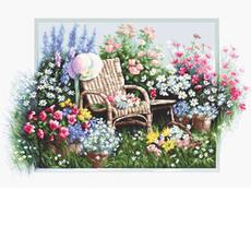 B2344 Цветущий сад Набор для вышивки крестиком