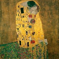Золотой поцелуй худ. Густав Климт (VP200)