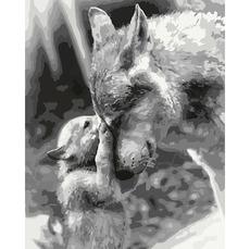 KHO4188 Картина по номерам Материнское чувство Идейка