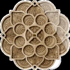 Органайзер для бисера и алмазной мозаики с прозрачной крышкой FLZB-091