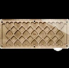 Органайзер для бисера и алмазной мозаики с прозрачной крышкой FLZB-095