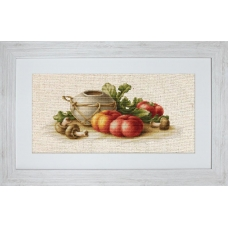 BL2249 Натюрморт с овощами. Luca-S. Набор для вышивания нитками